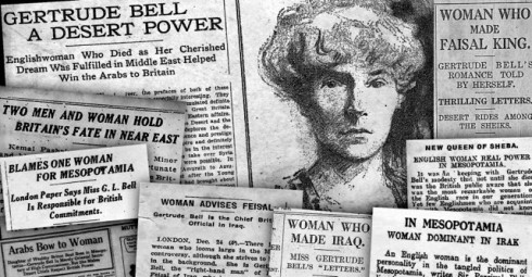 Gertrude Bell in the press